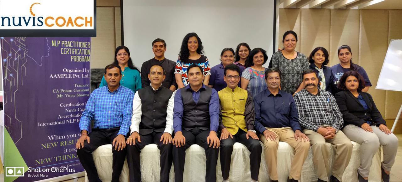 NLP Training in Vadodara - Nuvis Coach