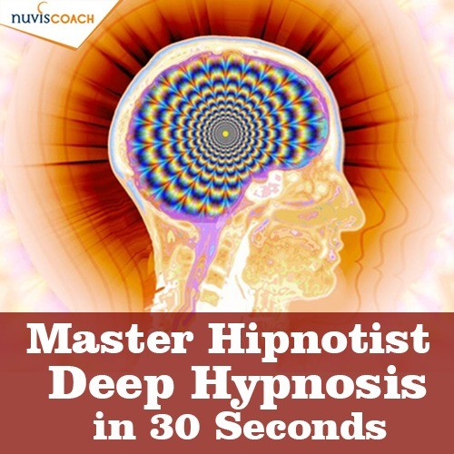 Master Hypnotist Instant Hypnosis Rapid Induction and Hypnotherapy